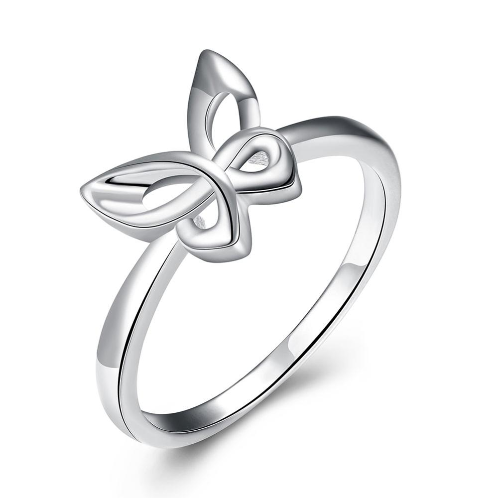 stacking il ring her for rings products butterfly silver trio jewelry three of gift fullxfull