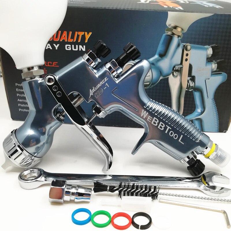 PLUS professional Gravity spray gun car paint gun painted high efficiency 1 3mm NOZZLE HD 1