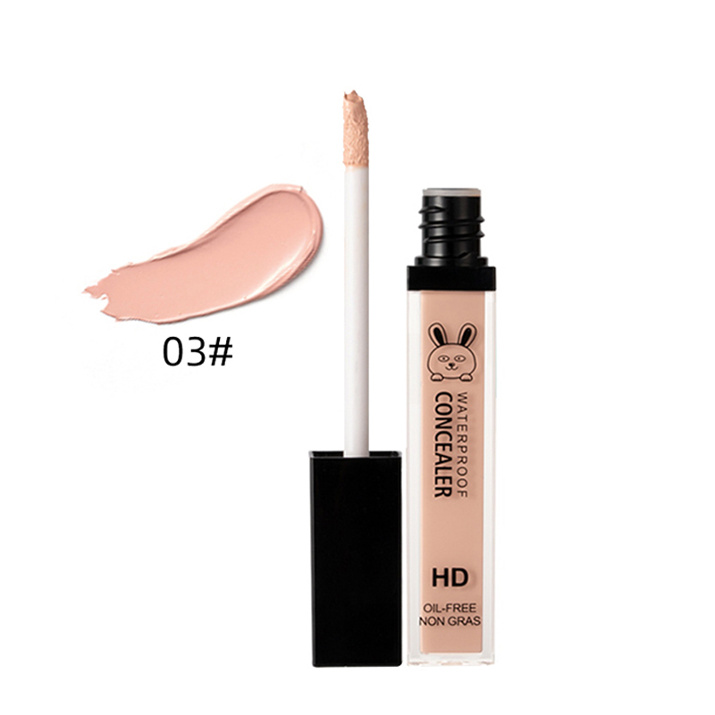 Concealer Liquid Waterproof Sweatproof Dark Circles Acne Mark Concealing For Makeup ---MS
