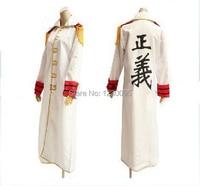 One Piece Navy Marine Cosplay Costume Navy Marine coat Cloak Cosplay