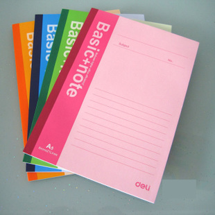 1 PCS Basic Office School Note Book A5 Size Soft Copy Diary Notepad Exercise Book 30 Sheets Notebook G222