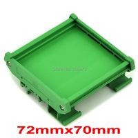 DIN Rail Mounting Carrier For 72mm X 70mm PCB Housing Bracket