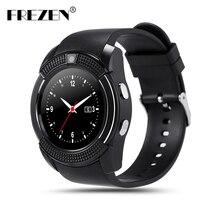 FREZEN Q9 Smart Watch Bluetooth Round Screen IPS Sport Watches Sim TF Card Smartwatch For Android Phone PK GT08 GV18 U8 DZ09 A1