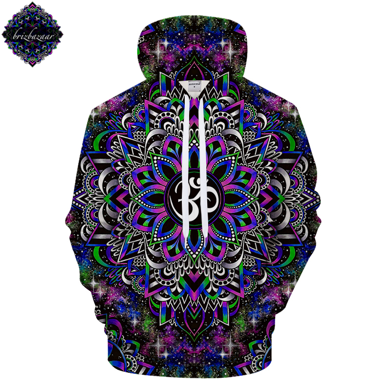 DreamyOm By Brizbazaar Art 3D Print Hoodie Dream Galaxy Sweatshirts Men Women Brand Hoodies Brand Pullovers Tracksuits Drop Shi