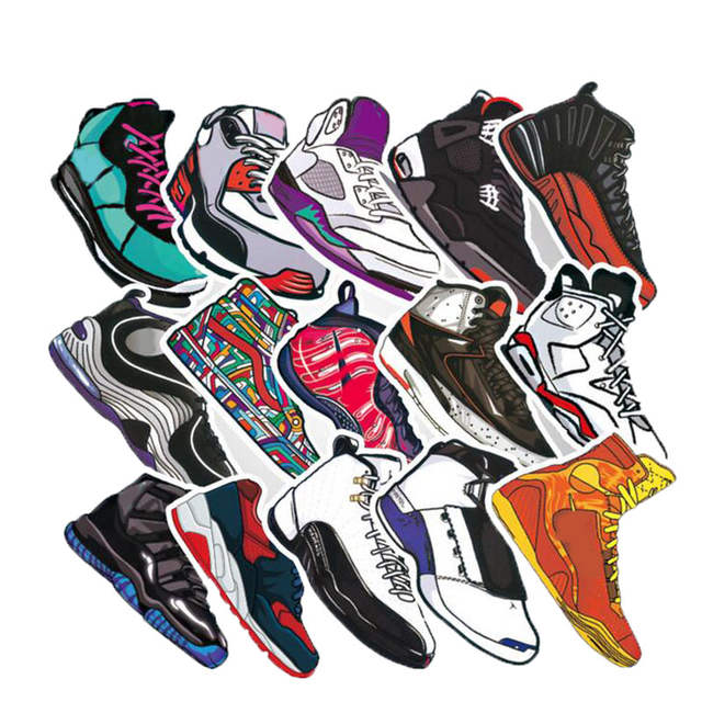 2835pcslot From For Laptopmotorcycle Phone In Luggage Waterproof Decal Us2 Car Case Sneakers Basketball Sticker Random Stickers kPuiOXTZ