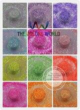 TCT 097 1 MM opalizujący perłowych kolorach brokat jasny ozdoby do paznokci projekt Nail art i DIY