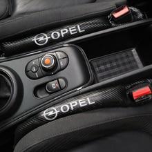 1 шт. углеродное волокно герметичный защитный чехол для сиденья автомобиля для Opel Astra H G J Insignia Mokka Zafira Corsa Vectra C D Antara