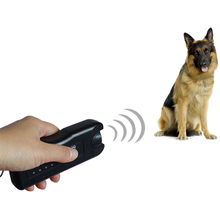 Portable Ultrasonic Dog Repeller Outdoor Pets Supply Anti Barking Control Device Stop Barking
