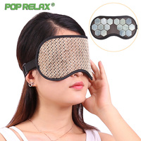 POP RELAX Jade Eye Mask Massage Health Care Jade Stone Patch Sleep Face Shade Massager Home Relaxation Beauty Facial Travel Eyes