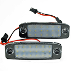 2Pcs Car LED License...