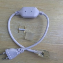 220V 110V Eu/Us Led Stekker Driver Waterdicht Voor 6 Mm 8 Mm 10 Mm 12mm 15 Mm Breedte Pcb Led Strip Voeding Adapter