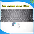 "Brand New For MacBook Pro Retina 13.3"" A1502 NO Norway Norwegian keyboard+100pcs keyboard screws 2013-2015 Years"