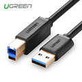 Ugreen USB 3.0 Type A Male to B Male Printer Cable super Speed Sync Data Charger Print Cable 2M for HP Canon Epson Lexmark Dell