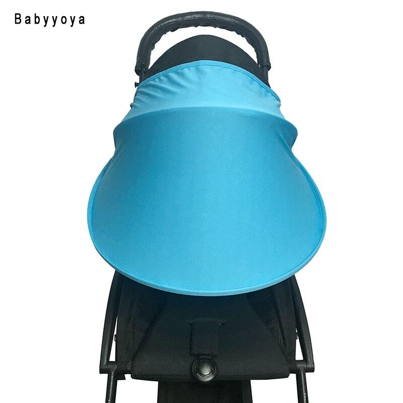 Baby Stroller Sun Visor Carriage Sun Shade Canopy Cover for Prams Stroller Accessories Car Seat Buggy Pushchair Cap Sun Hood wholesale 1pcs 5 5 inch lcd monitor sun hood shade visor cover for osmo handheld gimbal