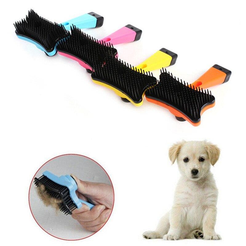 New 2018 Multi-purpose Pet Dog Cat Brush Hair Fur Shedding Trimmer Grooming Rake Professional Removal Comb Brush Detachable Tool