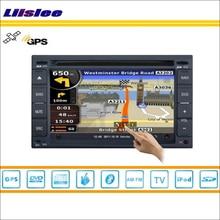 Liislee для Nissan Murano 2002~ 2007 автомобильный dvd-плеер gps Nav Navi навигация Радио стерео CD iPod BT HD экран мультимедийная система