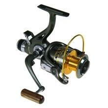 YOLO FRA Dual Brake Feeder Spinning Fishing Reel 10BB FRA 3000 4000 5000 6000 Carp Fishing Reel Bait Runner Fishing Wheel Pesca