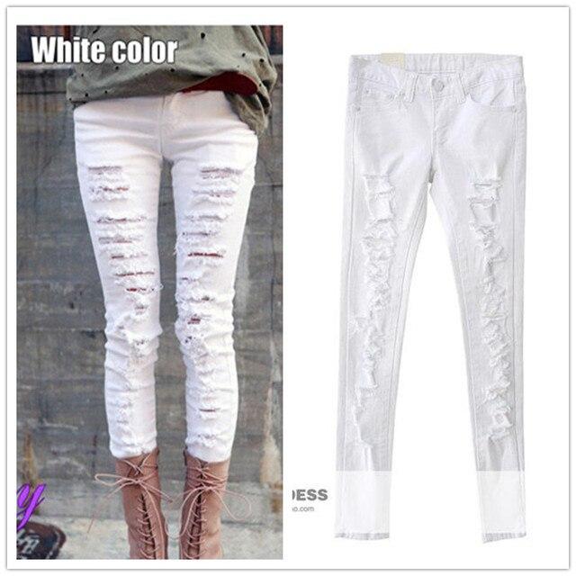 2017 apparel nouveau de taille mode jeans american automne femmes BBTrx
