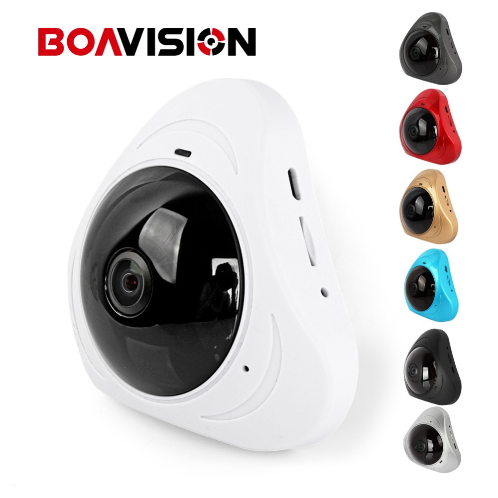 d6c86e67e4523 1.3MP 360 Degree WIFI IP Camera 960P Baby Monitor Two Way Audio Home  Security CCTV WI-FI Camera Android Panorama 3D VR