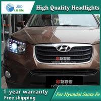 Auto Clud Style LED Head Lamp For Hyundai Santa Fe SantaFe Led Headlights Signal Led Drl
