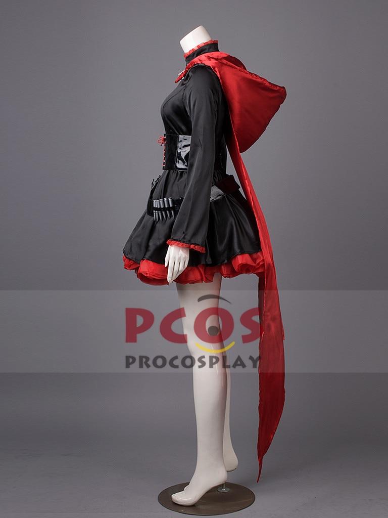 Լավագույն գինը ~ RWBY RWBY-Red Trailer Ruby Rose Cosplay - Կարնավալային հագուստները - Լուսանկար 3