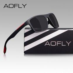 AOFLY Fashion Polarized Sunglasses Men Women Luxury Brand Designer Vintage Driving Sun Glasses Male Goggles Ultralight UV400