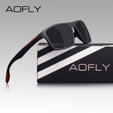 AOFLY Fashion Polarized Sunglasses Men Women Luxury Brand De