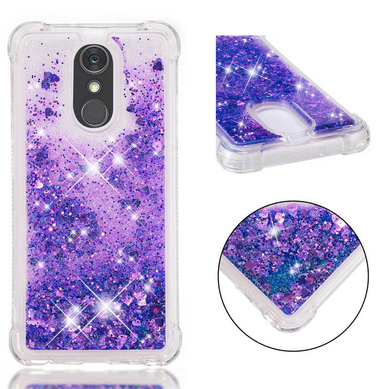 for Fundas LG Stylo 4 case Back cover Bling Glitter