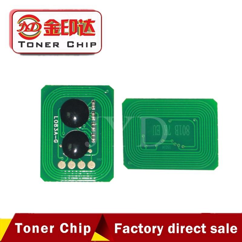 New compatible 46507628 46507627 46507626 46507625 cartridge reset chip for Okidata C712dn for Oki C712 712 printer toner chip стоимость