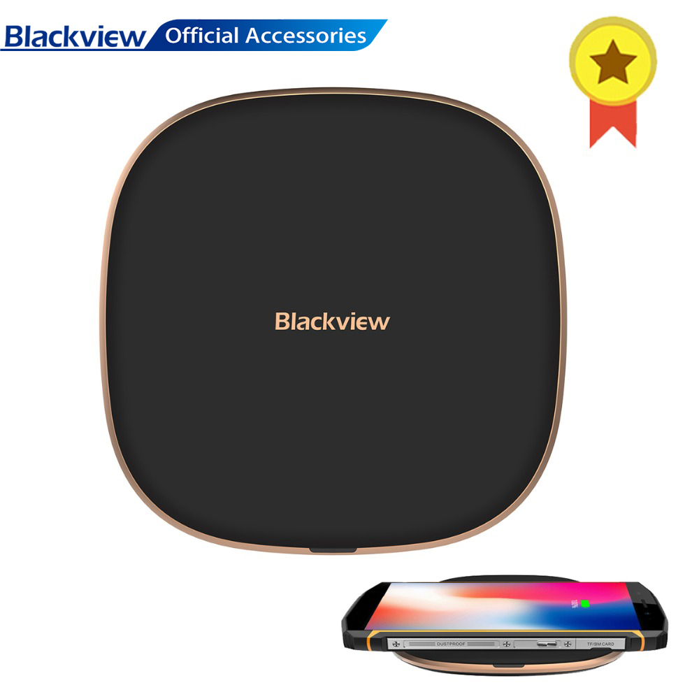 Blackview Wireless-Charger Qi Fast-Charging Bv9600pro Original For Bv6800pro/Bv5800pro/Bv9500pro