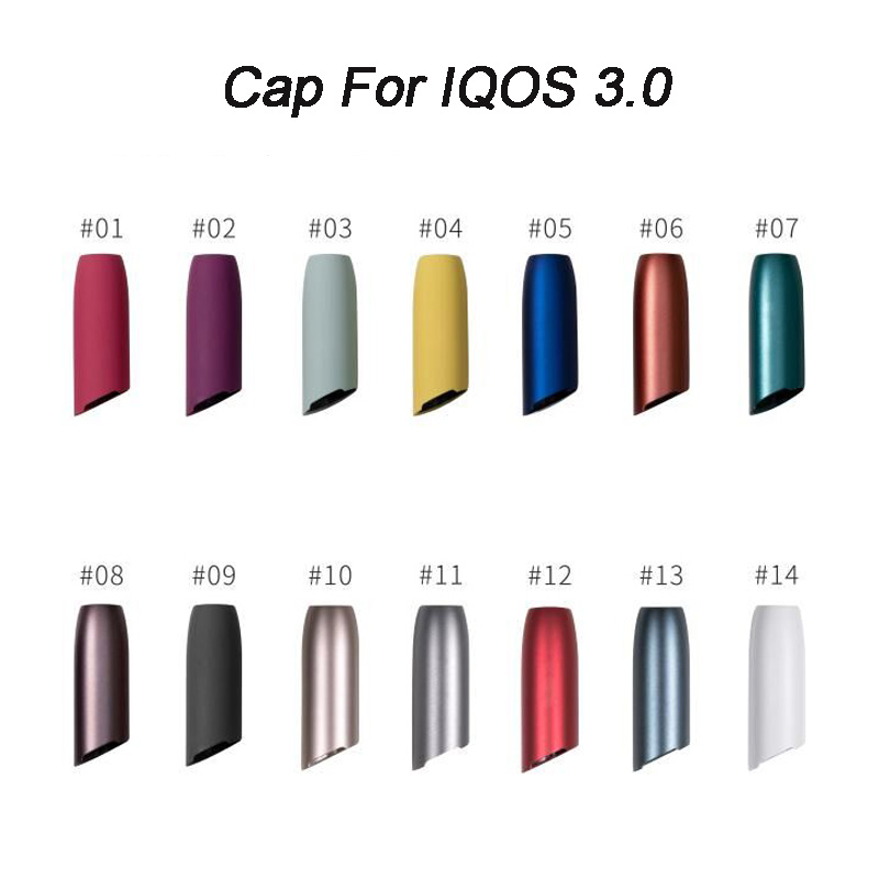 E Cigarette Accessories Mouthpiece Shell cap For use with IQOS 3 0 Cap Replacement part Outer