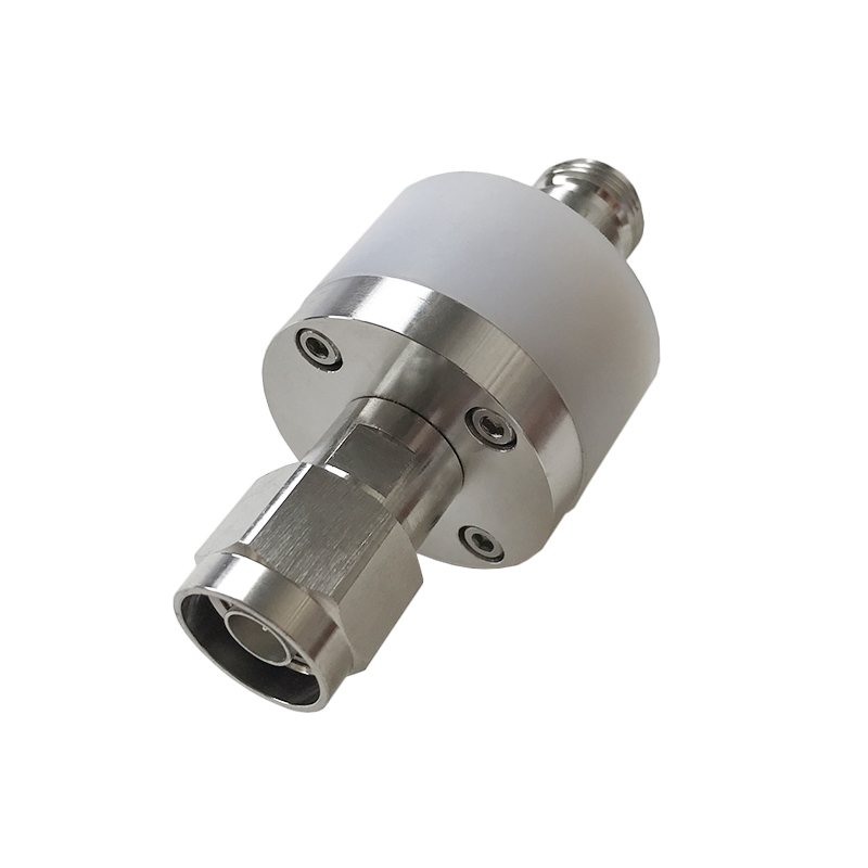 DC BLOCK N type high voltage isolator, DC divider frequency DC-3GHz dc 3ghz resistance two power divider rf coaxial power divider sma