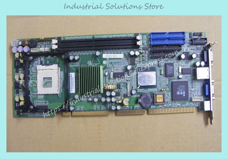 все цены на  IPC Board Ppa Industrial Motherboard IP-4GVP23 Belt Ethernet Port full Length CPU Card 100% tested perfect quality  онлайн