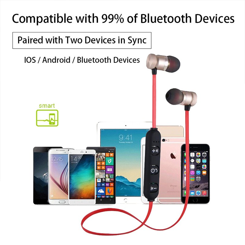 Wireless Earphones Sporting Earpiece Earbud Bluetooth Earphone For Xiaomi Huawei Mobile Phone MP3 MP4 Player Laptop PC Game (6)