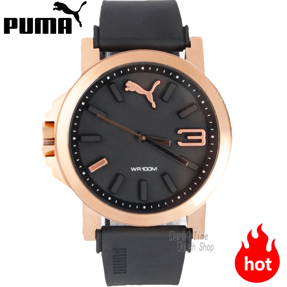 PUMA WATCH Casual series metal silhouette quartz male watch PU103462014 PU103462013 PU910801041 PU910801040 PU910801039