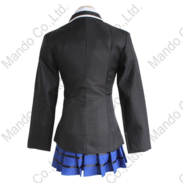 Անիմե DATE A LIVE Yatogami Tohka Cosplay Costume Girls School - Կարնավալային հագուստները - Լուսանկար 3