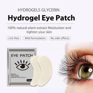 Image 4 - 12 adet = 6 çanta jel göz bantları göz güzellik bakımı Anti Aging göz bandı beyazlatmak koyu halkalar hidro jel kırışıklık karşıtı