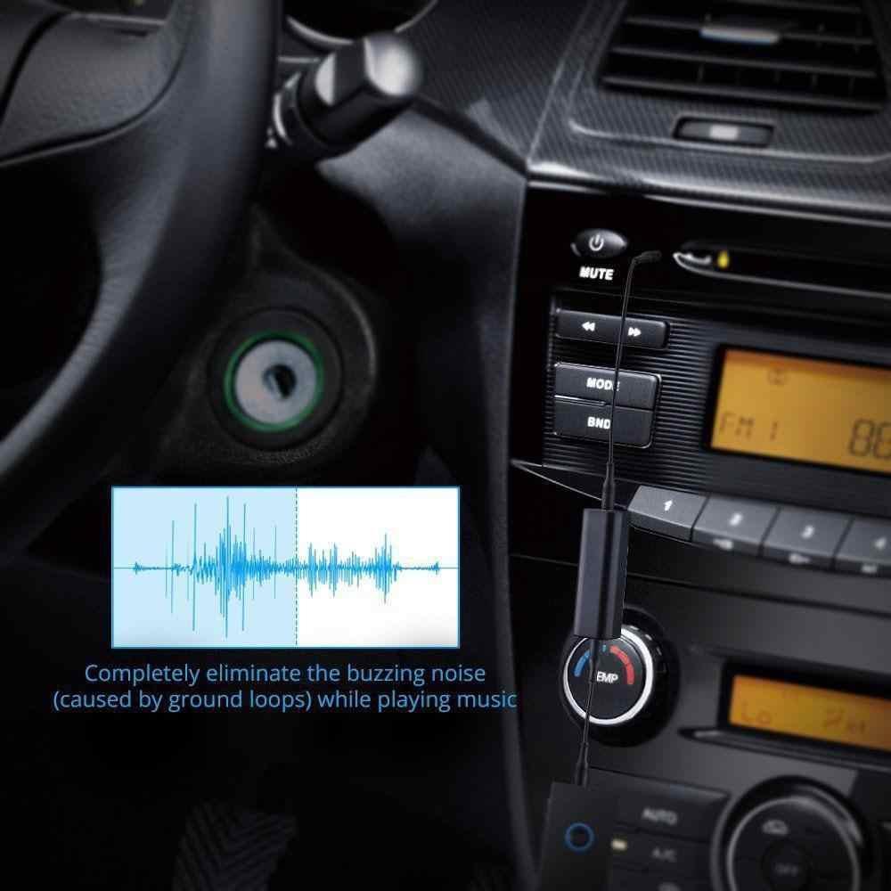 Do przeciwzakłóceniowego izolator hałasu samochodowy sprzęt audio kabel pętli uziemienia Smartphone/głośniki/urządzenie Buetooth filtr szumów domowych r30