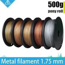 Hot! 500g 3D Drucker Metallic Filament, 30% Von Metallgehalt Filamente-Messing/Bronze/Kupfer/aluminium, 1,75