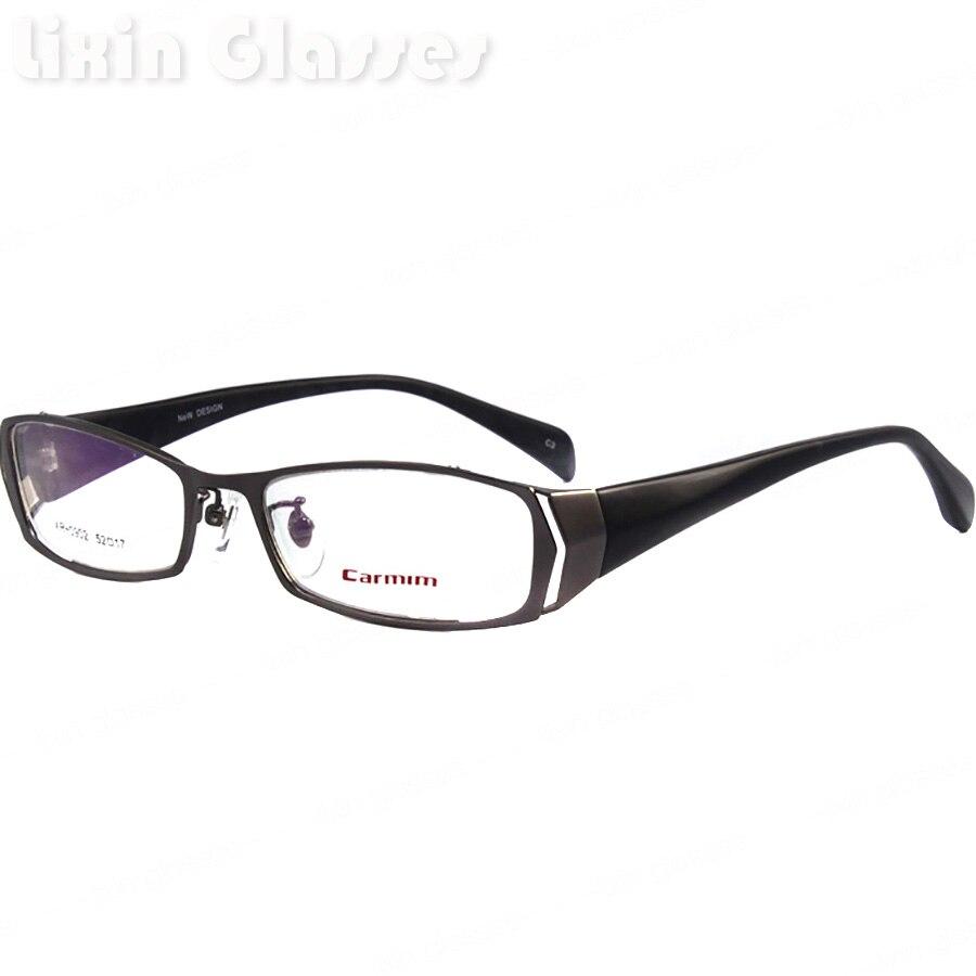 Homens de Aço Inoxidável de Alta qualidade limpar lens Óculos  Frame Óculos armações XR-0902 C3 9357b71c01a34