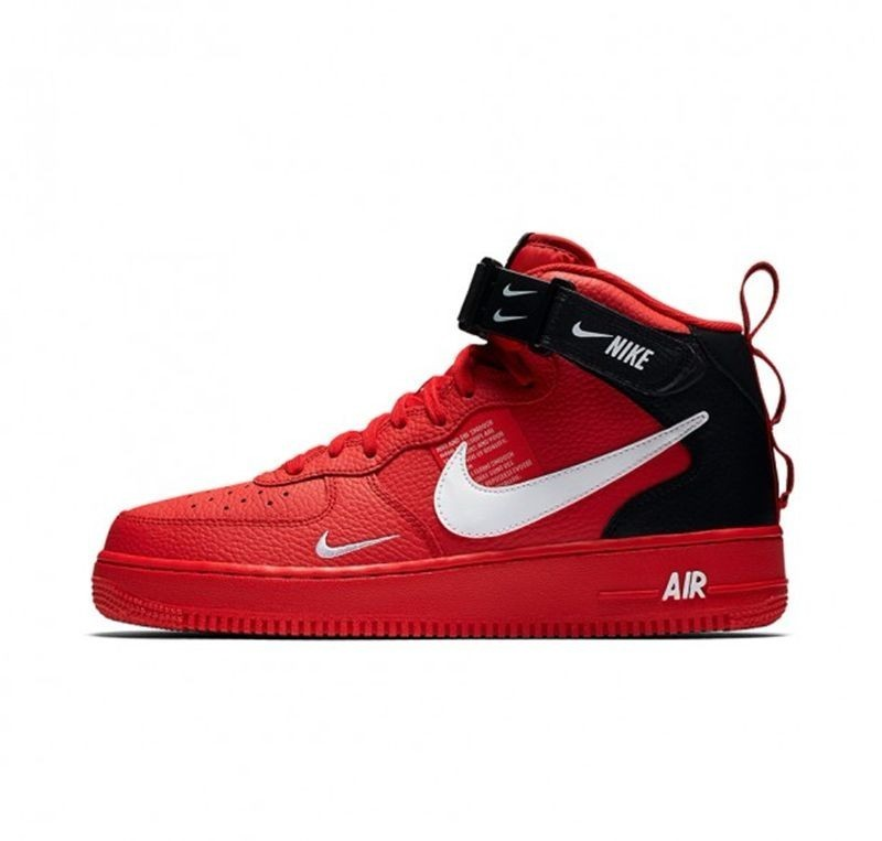 Buy > red air force 1 men 51% OFF online