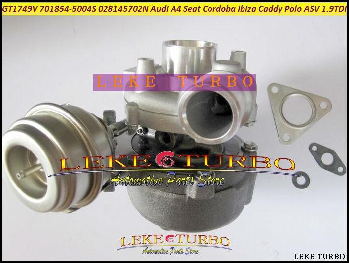 GT1749V 701854-5004 S 701854-0002 701854 028145702N турбо для audi A4 Seat Cordoba Ibiza II Leon для VW Caddy Polo ASV 1.9L TDI
