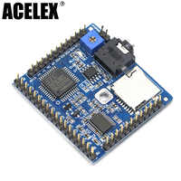 32 Sounds 2 Play Modes M3D5 MP3 Voice Playback Module Board MP3 Reminder For DIY 5V 1A