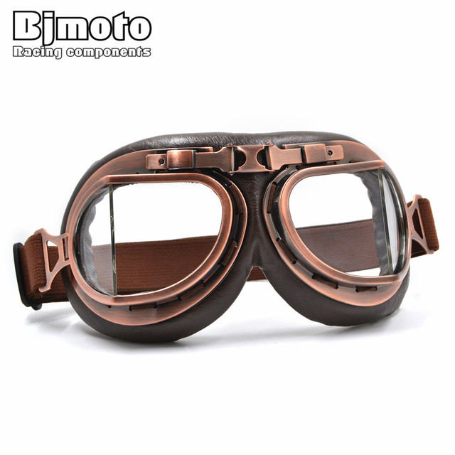 2017 New Wwii Raf Vintage Motorcycle Goggles Harley Motocross Goggle