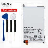 Oryginalny telefon Sony o dużej pojemności Z1 Mini bateria do Sony Xperia Z1 mini D5503 Z1 kompaktowy M51W LIS1529ERPC Z1MINI 2300mAh