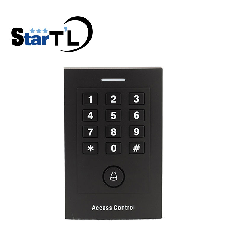 Standalone Access Control Keypad For Door Access Control System with Wiegand 26 keypad slave reader Password Pin for In and Out double sided turnstile for access control system catracas tourniquetes