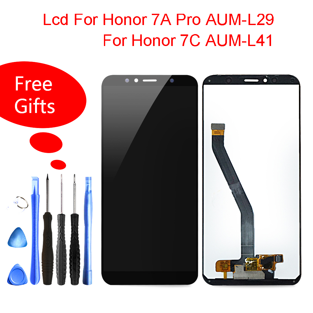 A cristalli liquidi Per Huawei Honor 7A Pro/Honor 7C LCD Touch Screen Display Digitalizzatore Assembly Per Honor 7A Pro/ 7C AUM-l29 AUM-L41 ATU-L11A cristalli liquidi Per Huawei Honor 7A Pro/Honor 7C LCD Touch Screen Display Digitalizzatore Assembly Per Honor 7A Pro/ 7C AUM-l29 AUM-L41 ATU-L11