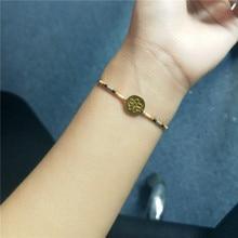 2019 Gilding Plated Chain Bracel Pendant Bohemian String Bead Rope Bracelets for Women rope bracelet womens bracelets