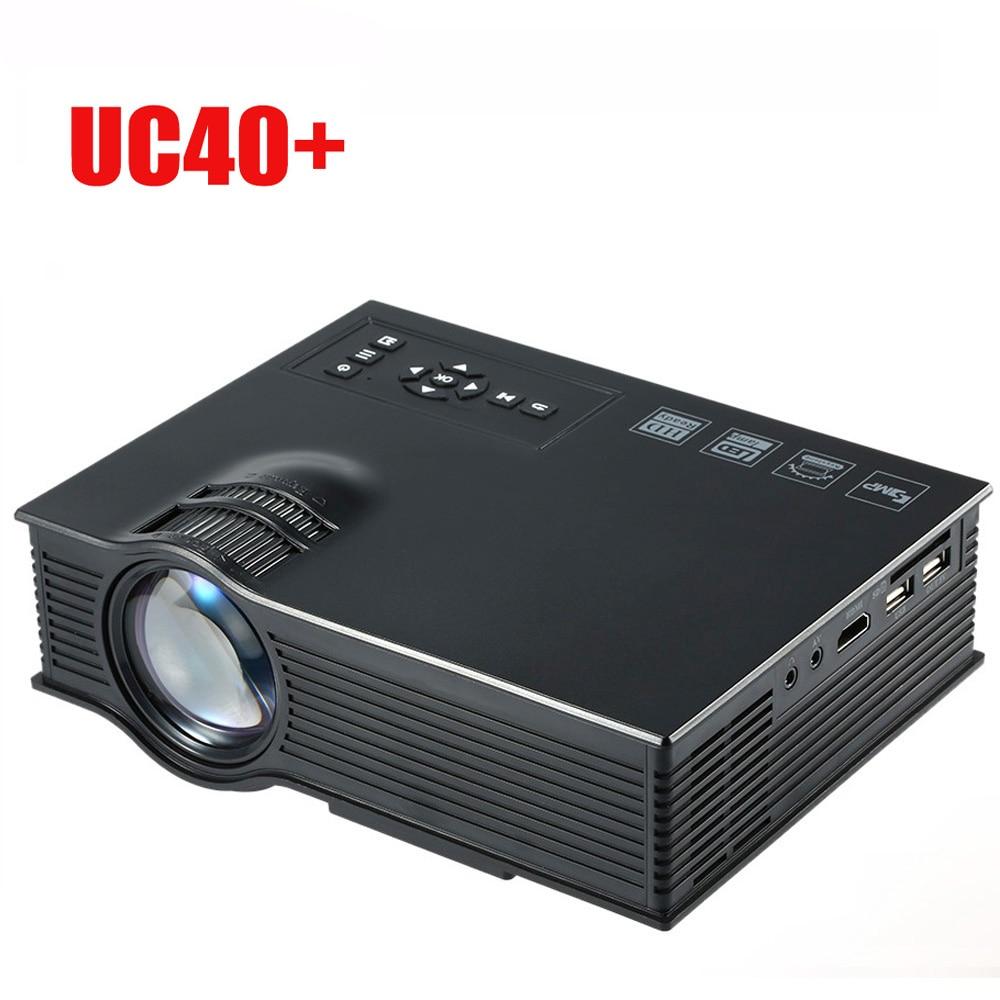 UC40 + portable mini projector 3D HDMI home theater projector intelligent digital multimedia projector 1080P Full HD Projector
