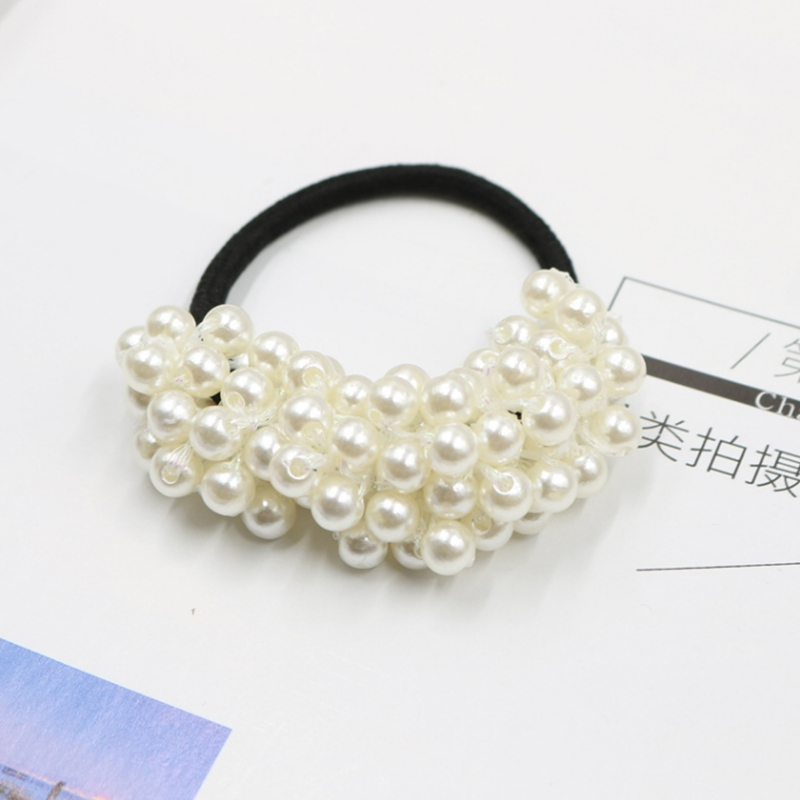 Hair Accessories 1pcs Short Hair Red Ball Elastic Hair Bands For Girls Bohemian Headband Scrunchy Korean Fashion Kids Hair Accessories For Women Products Are Sold Without Limitations Mother & Kids